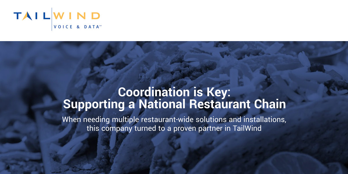 Supporting a National Restaurant Chain With a Multi-Location IT Launch
