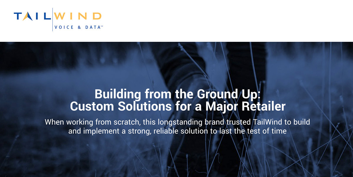 Customizing a Multi-Faceted IT Solution for a Well-Known Retailer